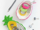 Totally amazing pineapple wooden bowls   10 Playful Pineapple DIY's - Tinyme Blog