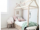 Chic and charming pastel color tones | 10 Pretty Pastel Girls Rooms - Tinyme Blog