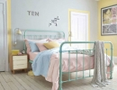 Soothing pastel hues creates a tranquil ambiance | 10 Pretty Pastel Girls Rooms - Tinyme Blog