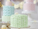 Whimsical pastel sweet fantastic cakes | 10 Pretty Princess Parties - Tinyme Blog
