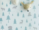 Exciting into the wild wallpaper design | 10 Quirky Wallpaper Designs - Tinyme Blog
