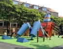 Robot theme playground | 10 Ridiculously Cool Playgrounds Part 3 - Tinyme Blog