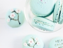 Japanese Cherry Blossom macarons | 10 Scrumptious Macarons - Tinyme Blog