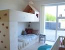Built in rock climbing wall bunk | 10 Shared Bedrooms - Tinyme Blog