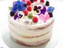 Fancy naked cake | 10 Simply Sweet Cakes - Tinyme Blog
