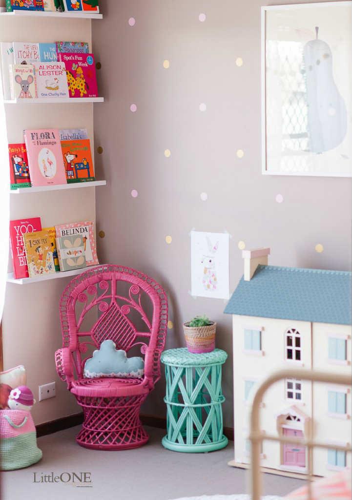 10 super snuggly reading nooks part 2 tinyme blog - Habitaciones infantiles de ninas ...