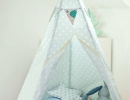 Fun-filled tent at home for kiddos. | 10 Super Snuggly Reading Nooks Part 2 - Tinyme Blog