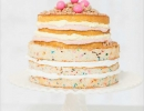 Beautiful layered cake with sprinkles | 10 Super Sprinkles Cakes - Tinyme Blog