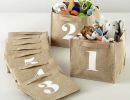 Store by numbers cube bins | 10 Super Stylish Storage Ideas for Kids Rooms - Tinyme Blog