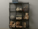 Vintage-industrial vibe cubby storage | 10 Super Stylish Storage Ideas for Kids Rooms - Tinyme Blog