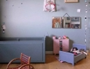 Simply blue vintage child room | 10 Sweet Girls Nurseries - Tinyme Blog
