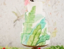 Cuba wedding tropical cake | 10 Sweet Summery Cakes - Tinyme Blog