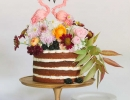 Tropically inspired topper | 10 Sweet Summery Cakes - Tinyme Blog