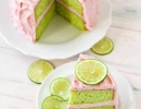 Refreshing strawberry limeade cake | 10 Sweet Summery Cakes - Tinyme Blog