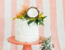Tropical vibe triple coconut cake | 10 Sweet Summery Cakes - Tinyme Blog