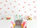 Cute watermelon wallpaper | 10 Tropical Kids Rooms - Tinyme Blog