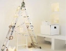The Winter Brights Ladder Tree | 10 Unusual Christmas Trees - Tinyme Blog