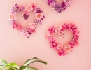 DIY floral hearts everyone will love | 10 Valentines Day Crafts - Tinyme Blog