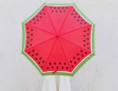 Sweet DIY Fruit Slice Umbrella | 10 Watermelon DIY's - Tinyme Blog