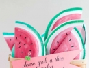 Sweet Watermelon Party Favor | 10 Watermelon DIY's - Tinyme Blog