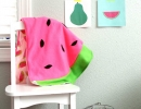 Absolutely Stunning Watermelon Baby Blanket | 10 Watermelon DIY's - Tinyme Blog