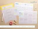 Happy home printables | 10 Ways to Make Back to School Easy - Tinyme Blog