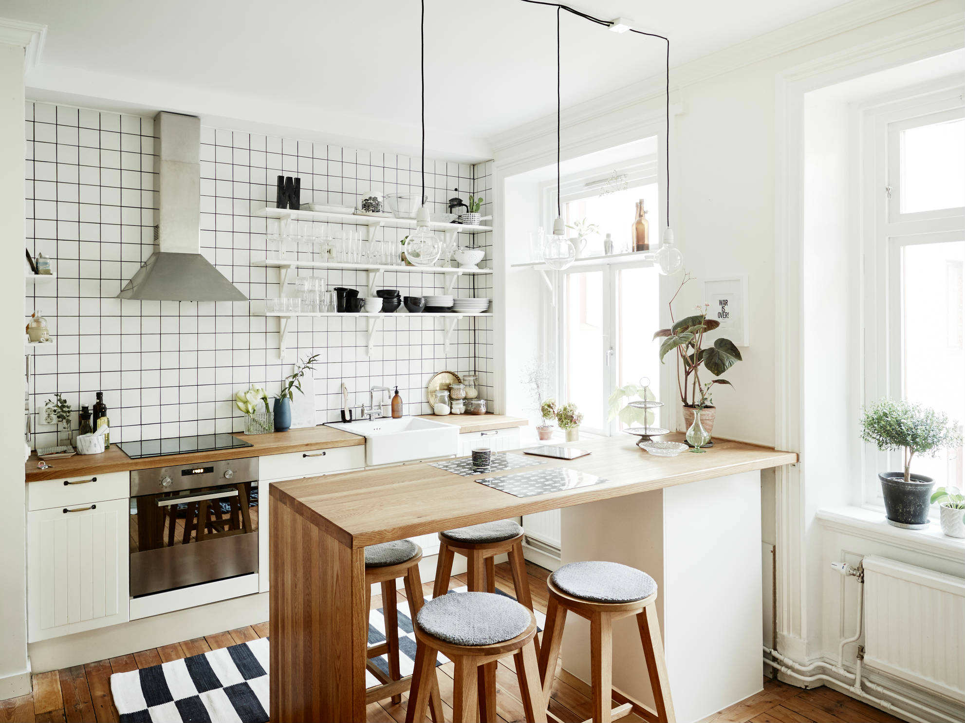 10 Bright and White Kitchens - Tinyme Blog