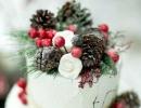 Classy winter cake | 10 Wintery Christmas Cakes - Tinyme Blog