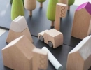 Adorable wooden town kit | 10 Wondrous Wooden Toys for Kids - Tinyme Blog