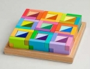 Bright colours smart toy | 10 Wondrous Wooden Toys for Kids - Tinyme Blog