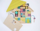 Cute Tsumiki building block house | 10 Wondrous Wooden Toys for Kids - Tinyme Blog