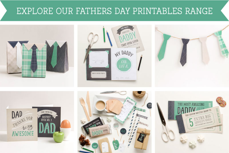 Explore the Fathers Day Printables Range | Tinyme Blog