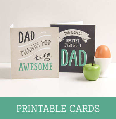 FREE Fathers Day Printable Cards ~ Tinyme
