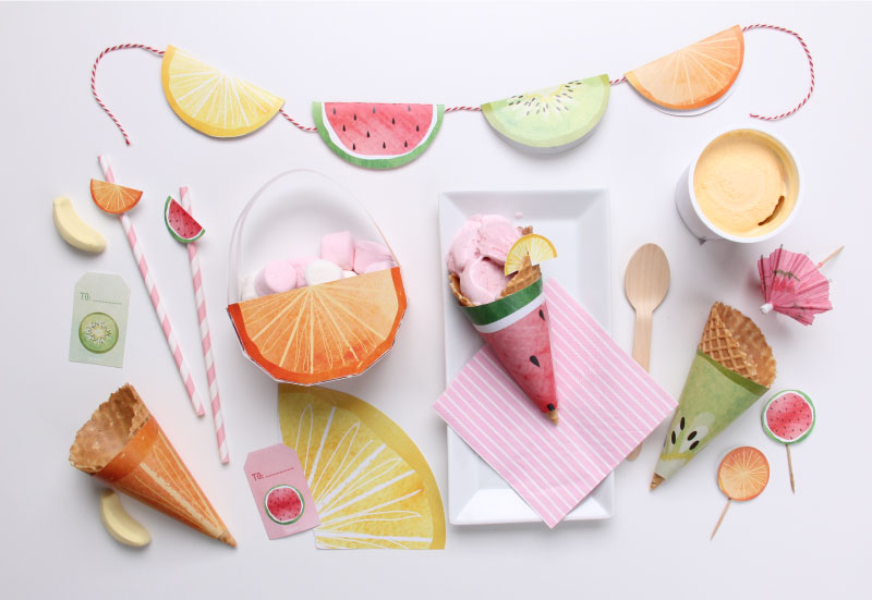 Free 'Feeling Fruity' Printables | Tinyme Blog