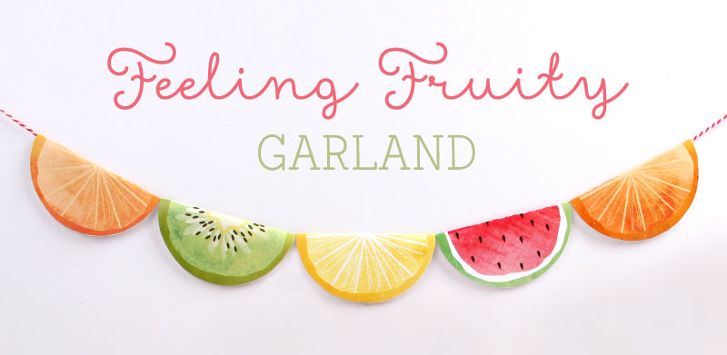 Feeling Fruity Printable Fruit Garland | Tinyme Blog