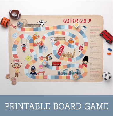 Go For Gold Printable Board Game | Tinyme Blog
