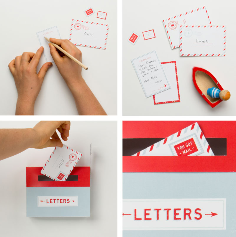 'Play Mail' Free Mailbox Printables | Tinyme Blog