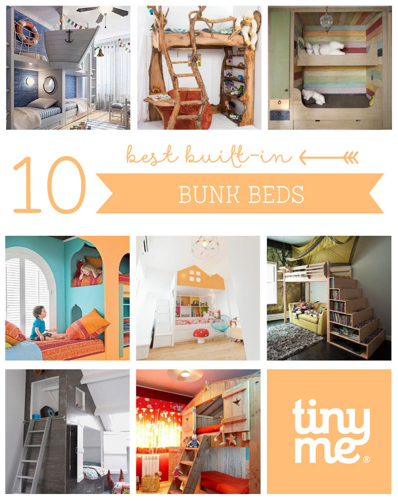 10 Best Built-in Bunk Beds - Tinyme Blog