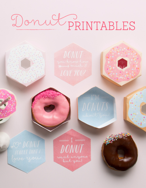 Free Donuts Printables