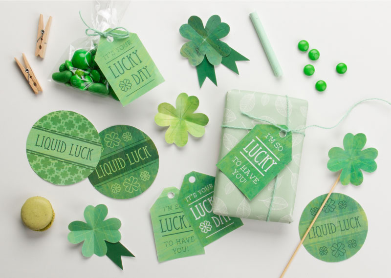 St Patrick's Day lucky Printables