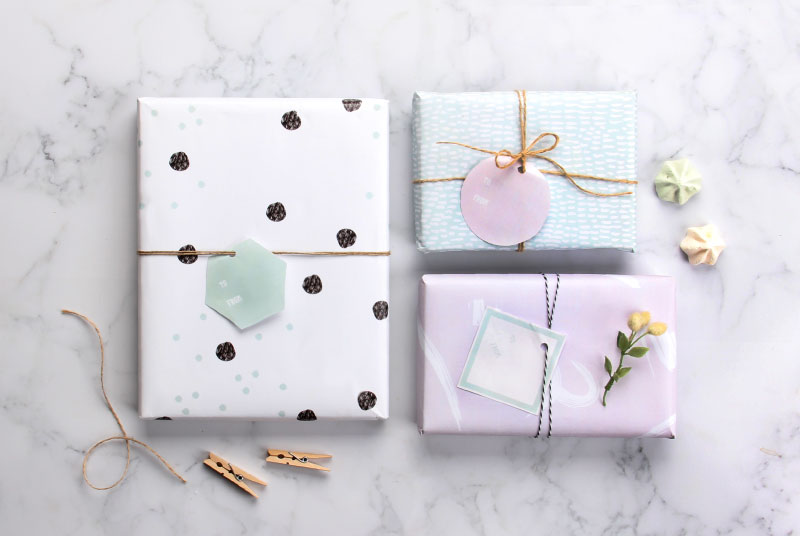 Free Oh So Pretty Printable Wrapping Paper