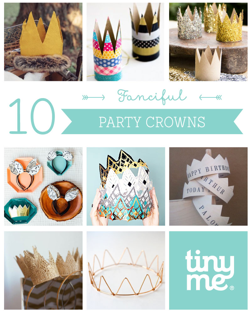10 Fanciful Party Crowns