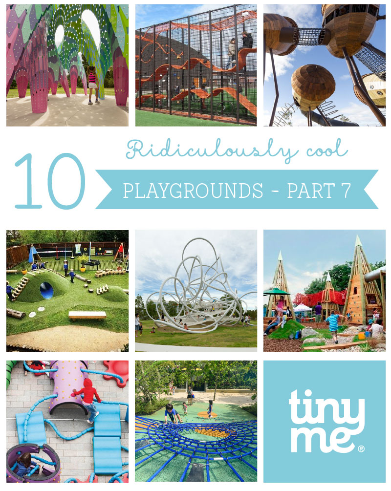 10 Ridiculously Cool Playgrounds Part 7