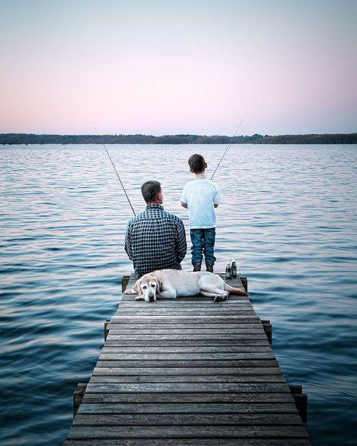 Fishing at Sunrise | Tinyme Blog
