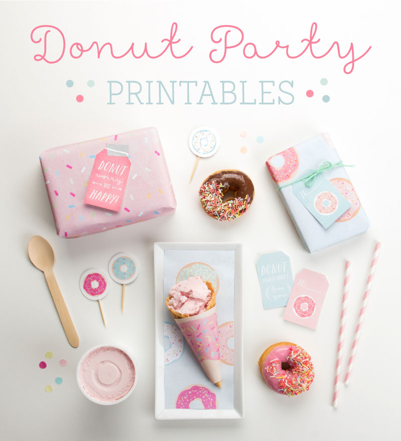 Free Donut Party Printables Tinyme Blog