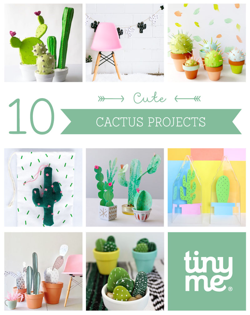 10 Cute Cactus Projects