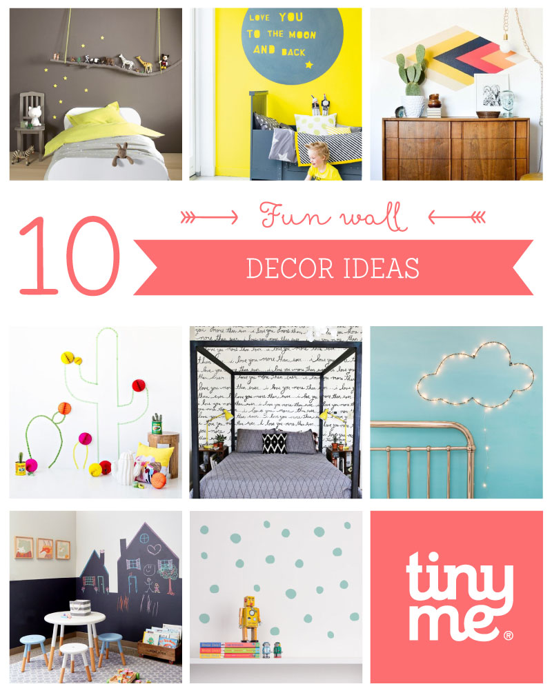 Wall Decor Ideas Blog : Fun wall decor ideas tinyme