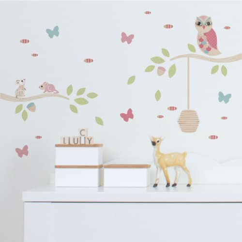 Wall decals nursery decals wall stickers tinyme mini wall decals amipublicfo Gallery