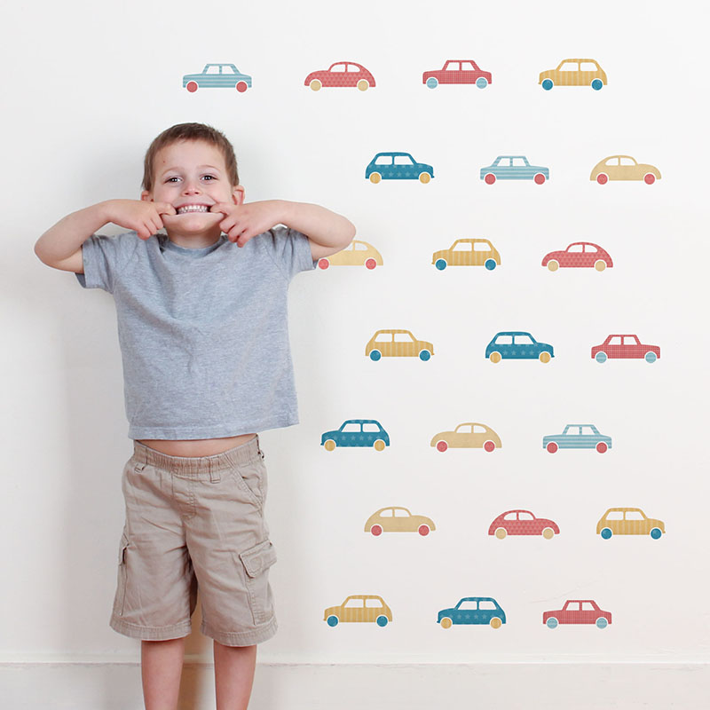 Transport Wall Decals
