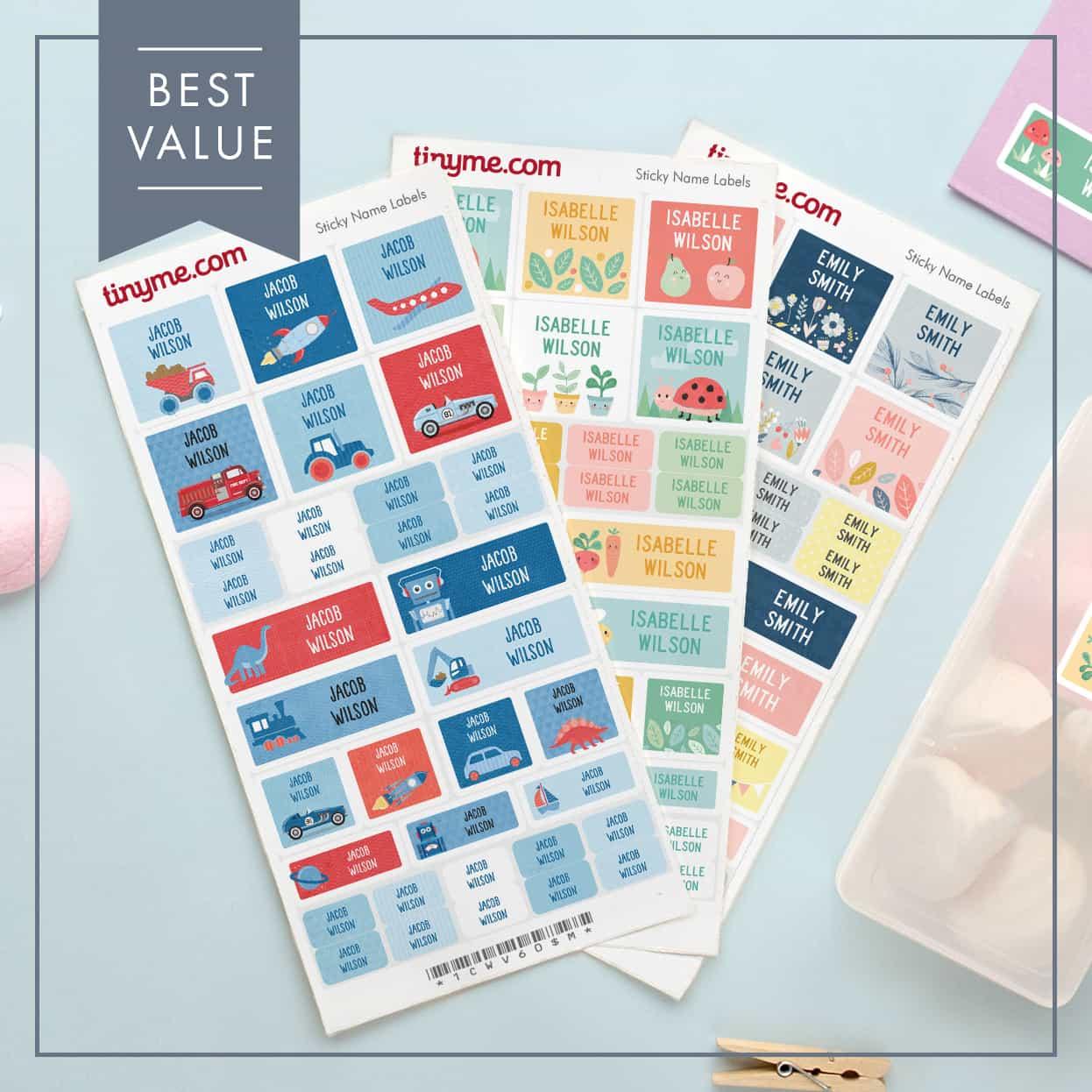 Name Label Value Packs